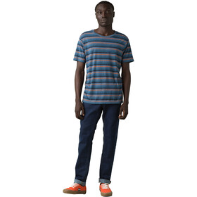 Prana Dustin T-shirt avec col ras-du-cou Homme, nickel